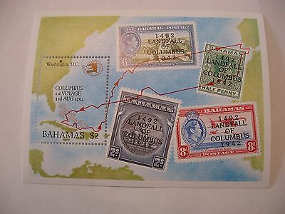 Stamps Bahamas Lot Ss