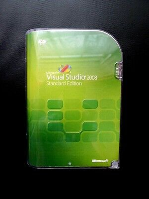 Microsoft Visual Studio 2008 Standard UK with MSDN Library Boxed DVD 127-00166