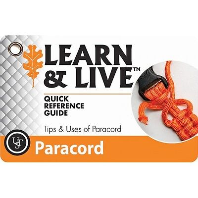 WG02466 Learn & Live Cards Paracord