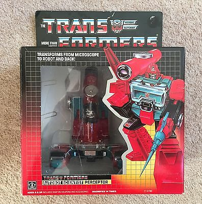 Transformers G1 Perceptor 100% And Boxed
