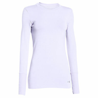 Under Armour Women's ColdGear Infrared Crew White Size X-Small