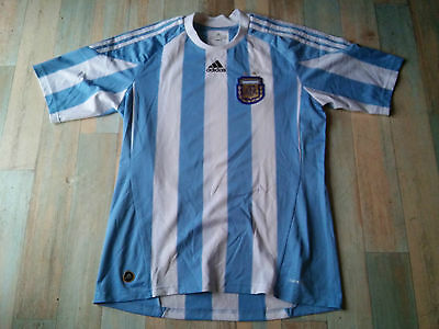 Maillot FOOT ADIDAS AFA EQUIPE ARGENTINE TAILLE/L/D6 TBE