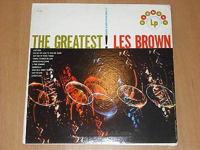 LES BROWN & HIS BAND OF RENOWN, The Greatest! (HARMONY VINYL LP EX!)