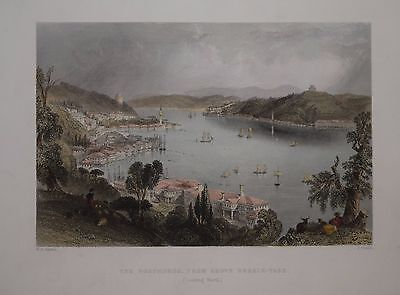 Four Steel Engraved Views From Beauties Of The Bosphorus, Published 1855