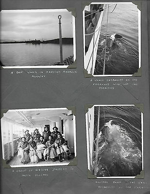 Ww2: 4 Photos Taken On Board Hospital Ship H.m.h.s. Aba During Ww2