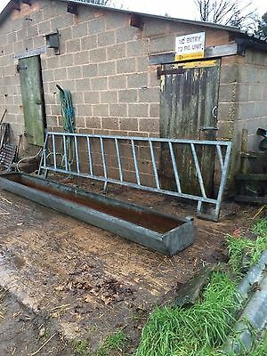 Feed Barrier And Trough