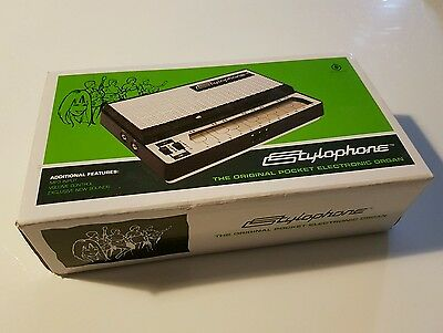 Stylophone The Original Pocket Electronic Organ Dubreq S-1 Musical Instrument