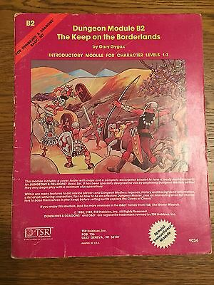 "Dungeons & Dragons (D&D) Basic Module B2 ""The Keep on the Borderlands"""