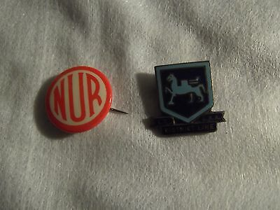 Two old Railway Badges one fairly rare
