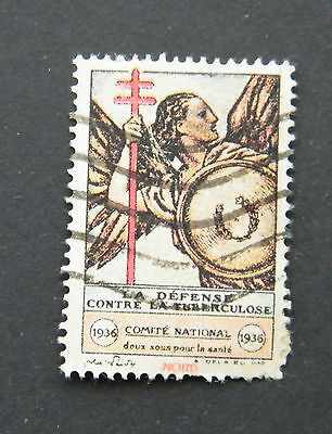 1936 France Fight Against Tuberculosis Stamp.
