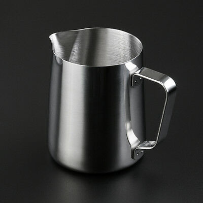 350ML Stainless Steel Coffee Frothing Pitcher Milk Latte Art Pour Jug Pot