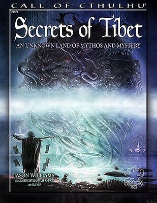 Secrets of Tibet - Call of Cthulhu - RPG - Chaosium 23129 - NEW