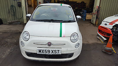 2011 Fiat 500 Airbag Kit Complete *seatbelts,airbags,dashboard*