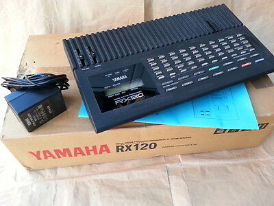 Yamaha Rx 120 Vintage Drum Machine