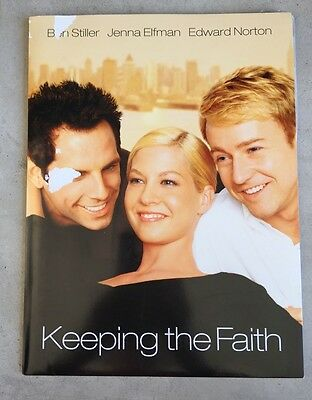 Keeping the Faith - Original Press Kit - new