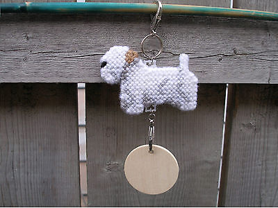 SEALYHAM TERRIER #1 Dog crate tag or hang anywhere pet art home decoration