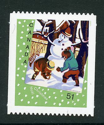 Weeda Canada 2184i VF NH Die cut 2006 Christmas single, from Annual Collection