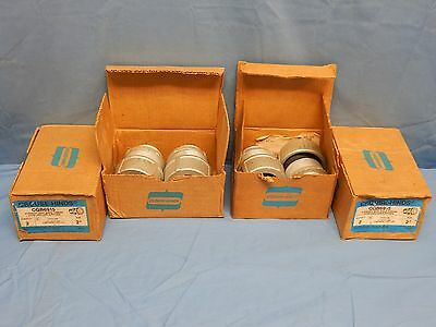 """8 NEW Crouse-Hinds CGB6915 2"""" Straight Body Male Thread Cord and Cable Fitting"""