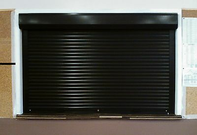 RECEPTION HATCH  SERVERY or BAR ROLLER SHUTTERS - ELECTRIC or MANUAL