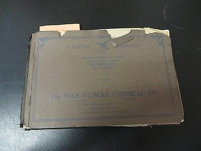 The max Huncke chemical co. - 5th edition catalogue of embalming and funeral sup