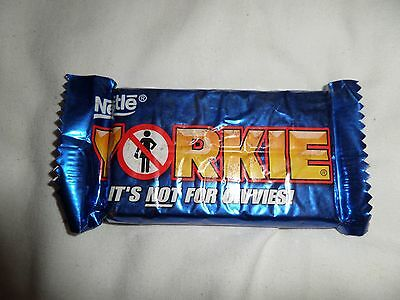 Nestle Yorkie - It's not for civvies (expired)