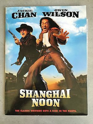 Shanghai Noon Press Kit - Original NEW