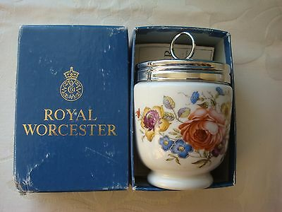 Royal Worcester Egg Coddler Bournemouth King Size - Boxed with Recipe Leaflet