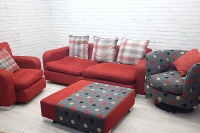 DFS 4 Piece Sofa Suite