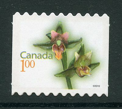 Weeda Canada 2362i VF NH Die cut Flower booklet single, from Annual Collection