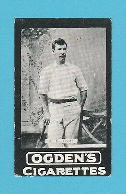 Cricket -  Ogdens Tabs -  Our Leading Cricketers - Trott Of Middlesex - 1901
