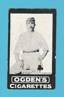 Cricket -  Ogdens Tabs -  Our Leading Cricketers - Ward  Of  Lancashire  -  1901