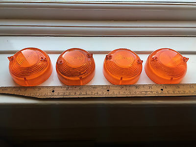 Land Rover Series 2 2a amber indicator lenses set of 4