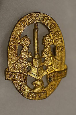 WW2 Canadian 2nd Dragoons Cap Badge