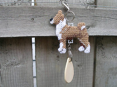 BASENJI #3 Dog crate tag or hang anywhere pet theme art, any day ornament