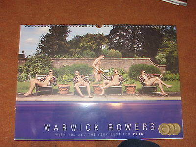 Warwick Rowers 2016 Picture Calendar Great Photos Gay Interest Male Model