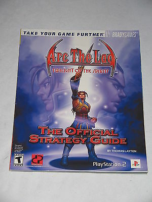 Official Strategy Guide ARC THE LAD - TWILIGHT OF THE SPIRITS ~ Lösungsbuch
