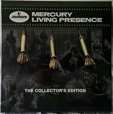 MERCURY LIVING PRESENCE 3 THE COLLECTOR'S EDITION 6LP 180g BOX SEALED