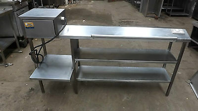 Commercial Large All Stainless Steel Chefs Pass Heated Ganrty