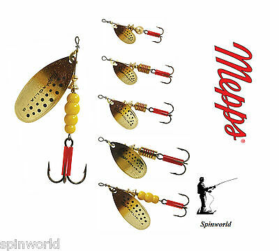 Mepps Brown Trout Spinner micropigments VARIETY SIZES