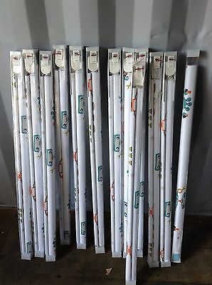 JOBLOT 12 John Lewis Children's Robotica Roller Blinds 91cm x 177cm
