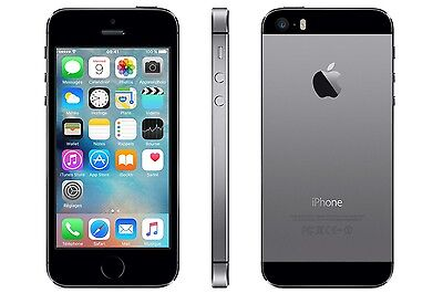 iPhone 5s 32GB Space Gray -Reconditionné - Comme NEUF- Garantie 1 AN!!