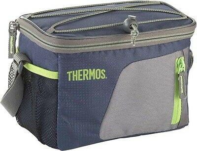 Thermos Radiance Camping Storage Picnic Insulated Cool Bag - Navy - 6 Can