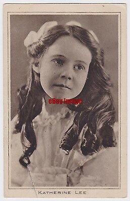 Early film actress Katherine Lee. Pictures Portrait Gallery 1