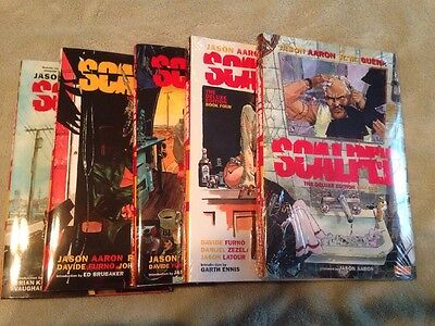 Scalped Deluxe Hardcover Lot HC 1 2 3 4 5 Complete