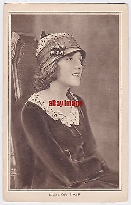 Early film actress Elinor Fair. Pictures Portrait Gallery 85