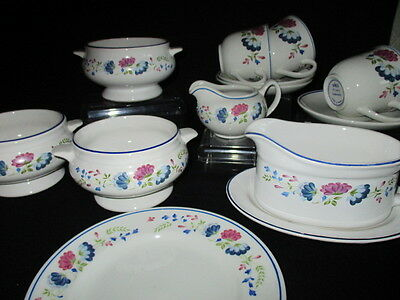BHS British Home Stores PRIORY Soups, cups & saucers and more - job lot