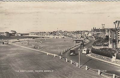 North Berwick, West Links, Real Photographic Postcard, Posted 1961.