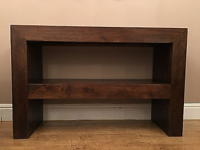 Solid Mango Wood Console Table