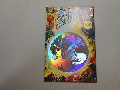 Silver Surfer #100! (Jan 1995, Marvel)! nM9.6+! Rare holo cover in amazing shape