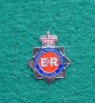 Greater Manchester Police CREST tie tac pin badge